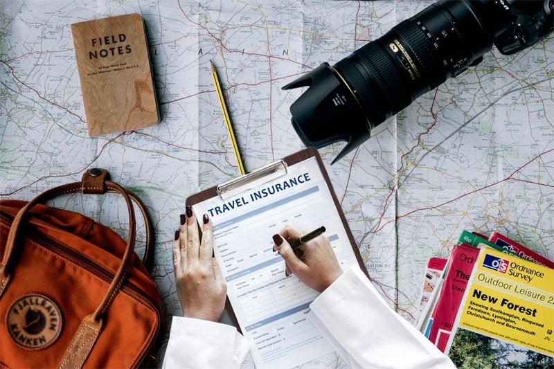 Serviço de seguro viagem internacional