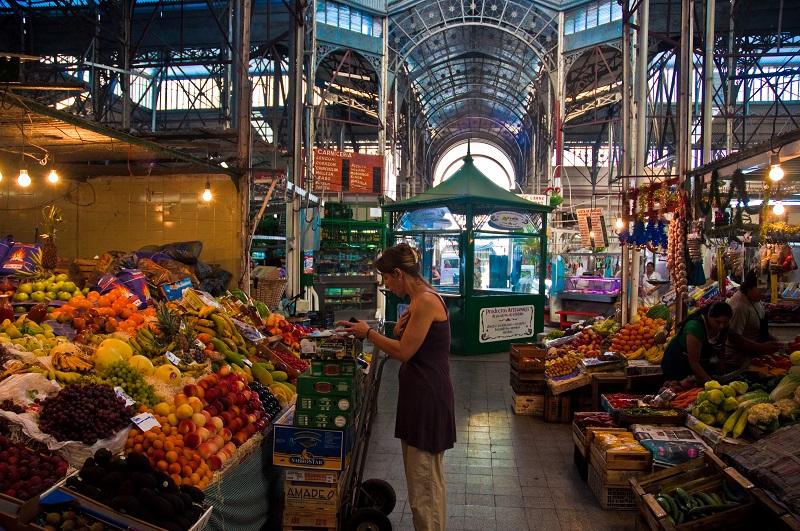Mercado de San Telmo em Buenos Aires
