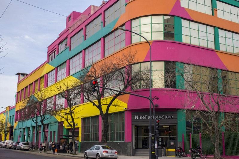 Loja da Nike no bairro Barraca em Buenos Aires